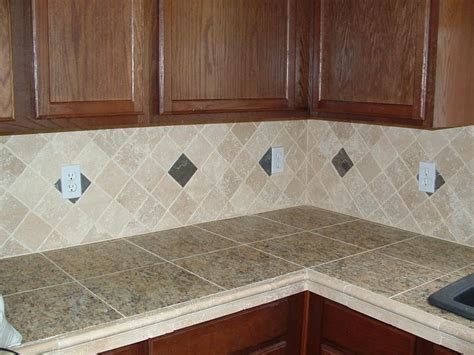 Do It Yourself Backsplash For Kitchen Several Kitchen Countertop Ideas That You Can Follow