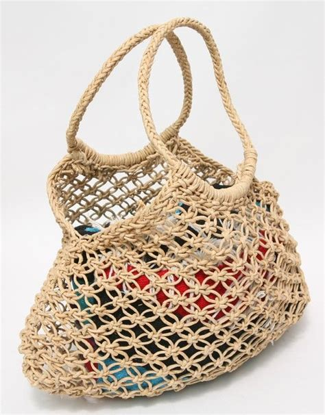Macrame Pouch Pattern - 25 best ideas about macrame bag on macrame