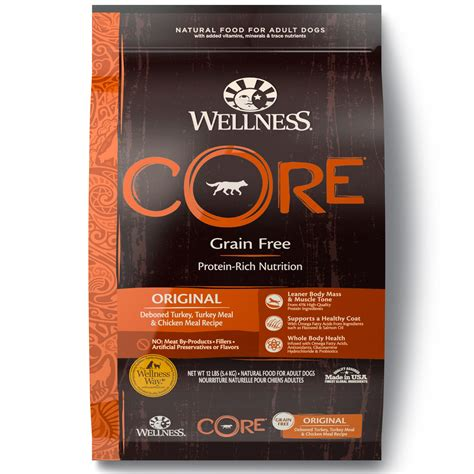is wellness a food wellness grain free original recipe