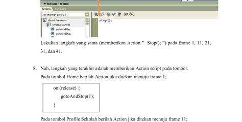 membuat web flash tutorial membuat website company profile dengan flash 8