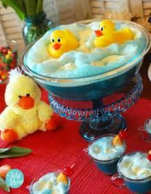 Ducky Bath Baby Shower Punch baby shower recipe ideas