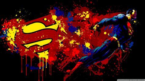 superman cartoon ultra hd desktop background wallpaper