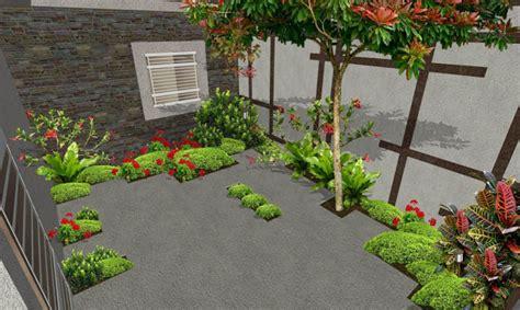 patio interior en aleman patio con sendero creativo de adoqu 237 n quot el ave f 233 nix