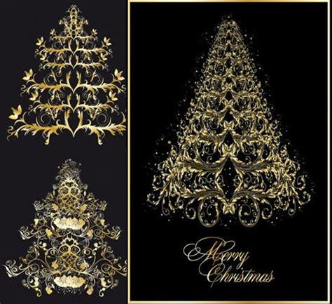european christmas tree classic european pattern vector tree free vector in encapsulated postscript eps eps