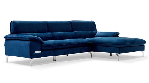 blue sectional with chaise sapphire blue sectional set with chaise zuri furniture