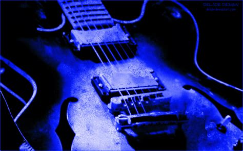 wallpaper guitar blue wallpaper guitar grunge blue by delade on deviantart