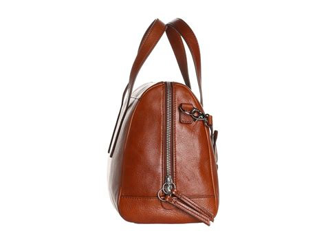 Fossil Satchel Premium 2 fossil sydney satchel in brown lyst