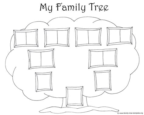 how to draw a family tree template diagram printable blank family tree diagram
