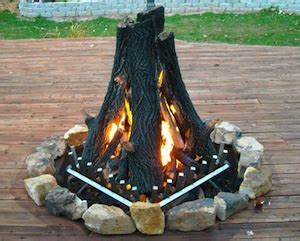 pit logs firepit logs