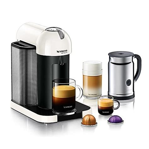bed bath and beyond nespresso buy nespresso 174 vertuoline coffee and espresso maker bundle