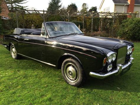 bentley corniche convertible 1972 bentley corniche convertible sold car and classic