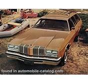 1976 Oldsmobile Cutlass Supreme Cruiser Wagon Full Range Specs