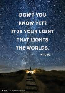 light quotes quotes on light rumi quotesgram