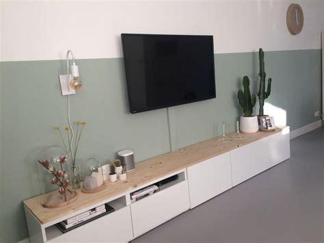 ikea billy tv kast 25 beste idee 235 n over kast planken op pinterest