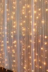chiffon fairy lights beaded crystal curtains wedding