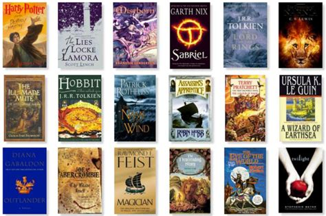famous books are the most popular fantasy books the best fantasy books