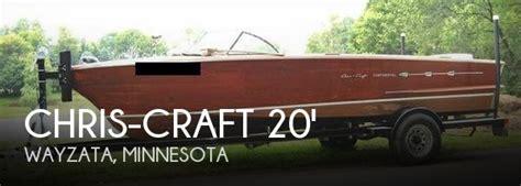 boat dealers near wayzata mn sold chris craft 20 continental boat in wayzata mn 088409