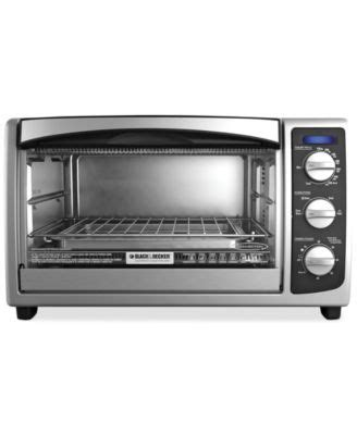 Black Decker Convection Countertop Toaster Oven To1675b Black Amp Decker To1373ssd 4 Slice Stainless Steel Toaster