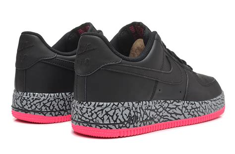 Sepatu Nike Air One Black Pink Womens Style Sporty Trendy nike air one price air 1 low black pink
