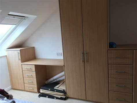 Built In Wardrobes For Sale by Built In Wardrobes Desk And Drawers For Sale For Sale In