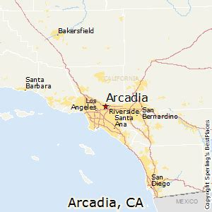 best places to live in arcadia california