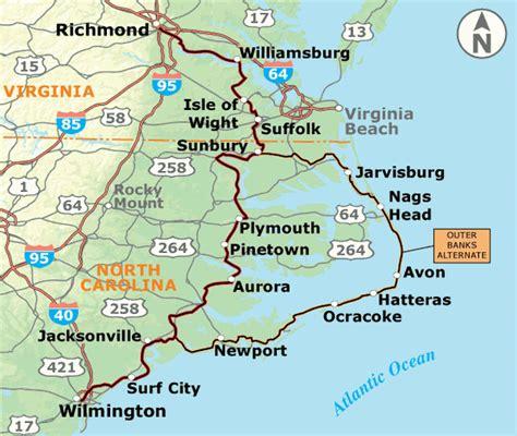 map us atlantic coast adventure cycling association atlantic coast section 4
