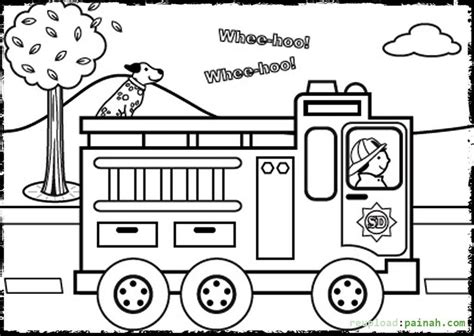 fire safety book coloring page az coloring pages