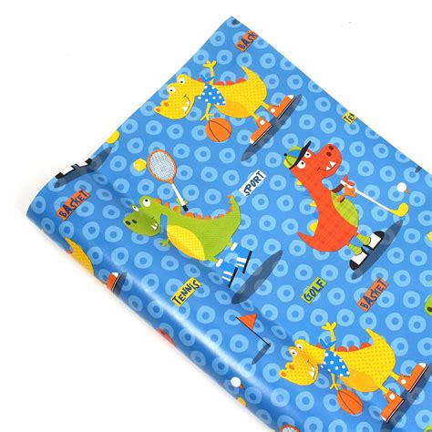 Crafts With Wrapping Paper Rolls - dinosaurs wrapping paper roll 2 m hobbycraft
