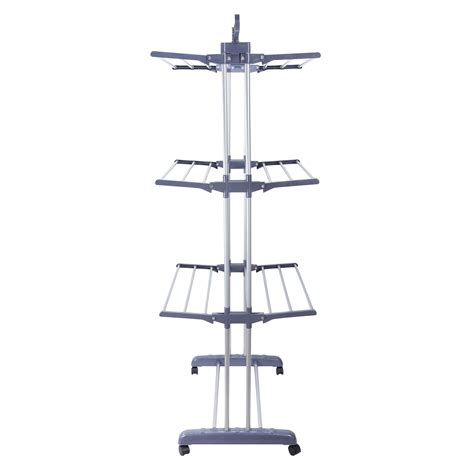 Outdoor Clothes Hanger Rack by Foldable 3 Tier Clothes Airer Laundry Dryer Rack Indoor
