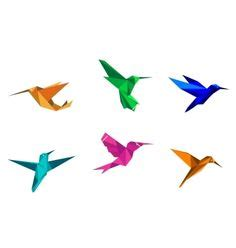 Origami Humming Bird - origami hummingbird www pixshark images