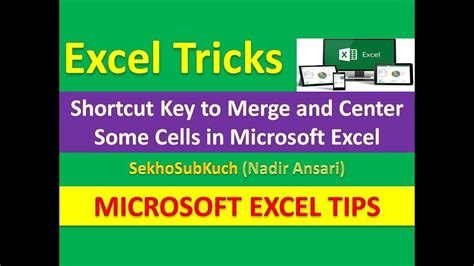 excel tips tutorial how to merge styles and themes of old shortcut key to merge and center some cells in microsoft