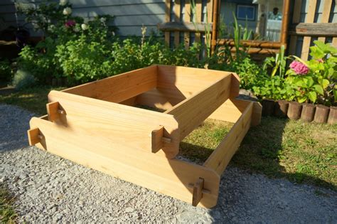 Garden Raised Bed Planter Flower Box Cedar Vegetable Kit Cedar Vegetable Garden Box