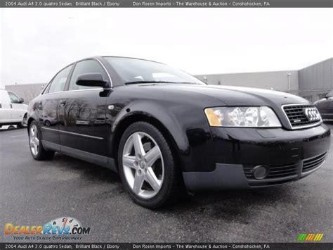 2004 black audi a4 brilliant black 2004 audi a4 3 0 quattro sedan photo 5