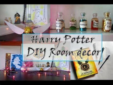diy harry potter room decor harry potter diy room decor indian youtuber sharvari patil