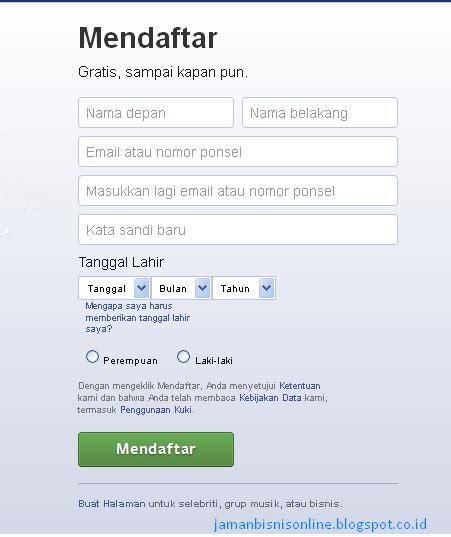 bagaimana cara membuat kuesioner online cara daftar facebook bagaimana membuat akun facebook
