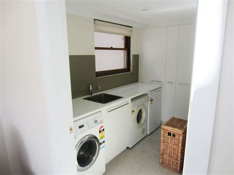 Laundry Cupboards Sydney custom built laundry cabinetry northern beaches sydney