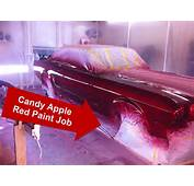 Candy Apple Red Mustang Paint Job  Its Painted Turbo Cobra