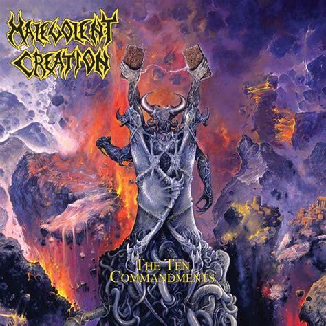 malevolent creation the ten commandments cd digi 13 99