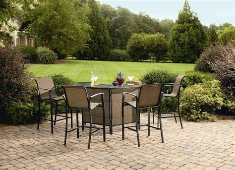 patio furniture bar set garden oasis harrison 5 bar set outdoor living