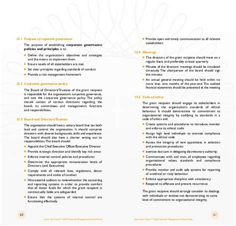 Ngo Financial Report Template