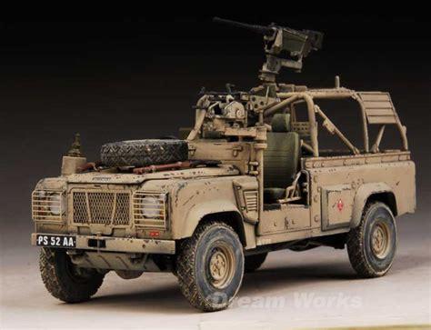 land rover wolf award winner prebuilt tamiya 1 35 sas land rover pink