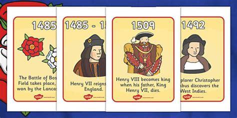 biography banner ks2 the tudors timeline display posters tudors henry history