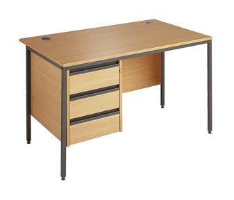 Budget Office Desks Budget Office Desk A With 1 Set Of Drawers