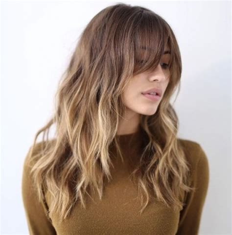 long hairstyles ideas pinterest 1000 ideas about layered bangs hairstyles on pinterest