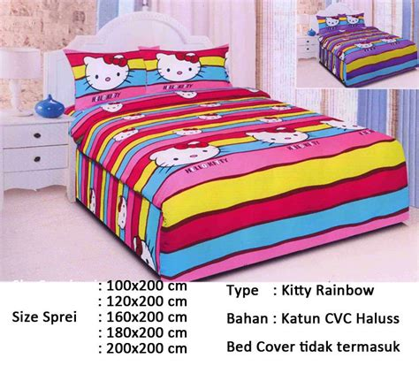 Sprei Katun Halus Motif Anak 160x200 180x200 200x200 buy sprei aneka motif kid edition deals for only rp82 000 instead of rp250 000