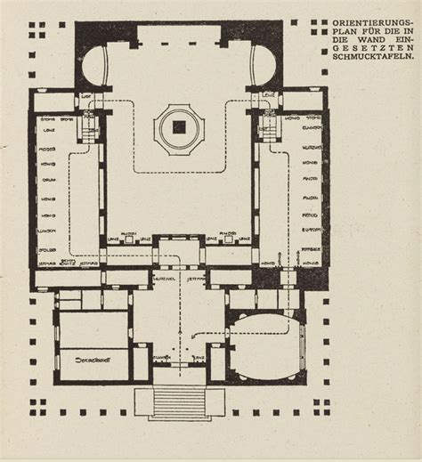Japanese House Plans vienna secession a history