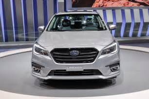 Subaru Legacy Refreshed 2018 Subaru Legacy Debuts At Chicago Auto Show