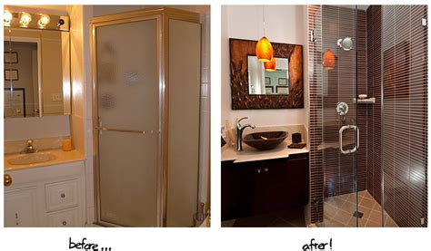 remodeled bathrooms before and after amazing before and after bathroom renovations