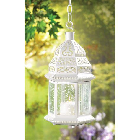 large white lanterns for wedding