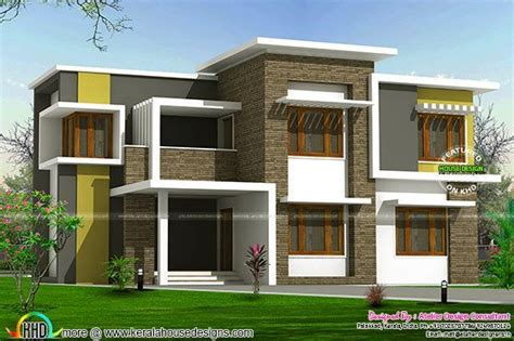 box type home design news 2300 sq ft box type home kerala home design bloglovin